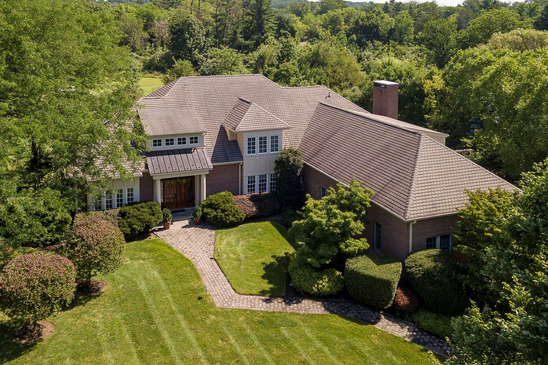 Single Family Homes for Sale at Peaceful Views, Plentiful Space, Perfect Locale 51 Grasmere Way, Princeton, New Jersey 08540 United States
