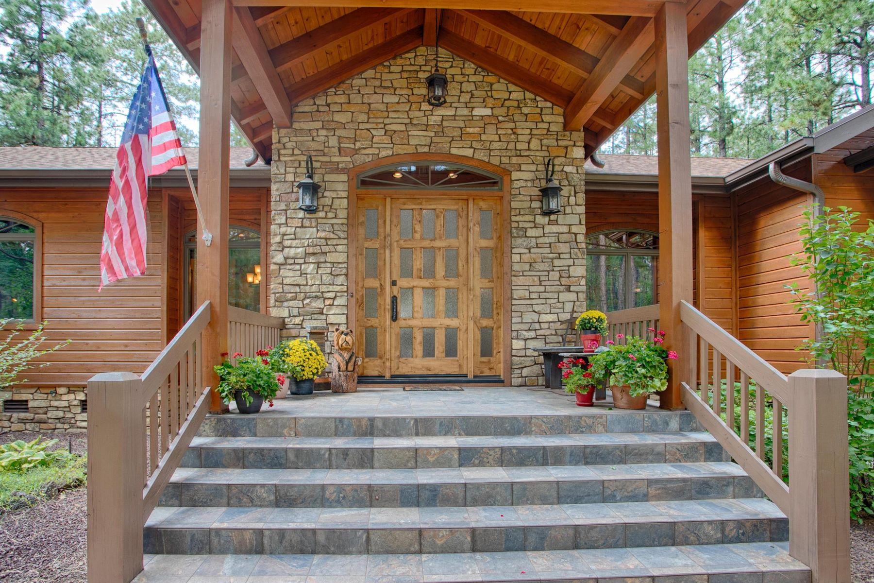 Single Family Homes for Sale at White Mountain Summer Homes 2736 E TURKEY RUN RD Pinetop, Arizona 85935 United States