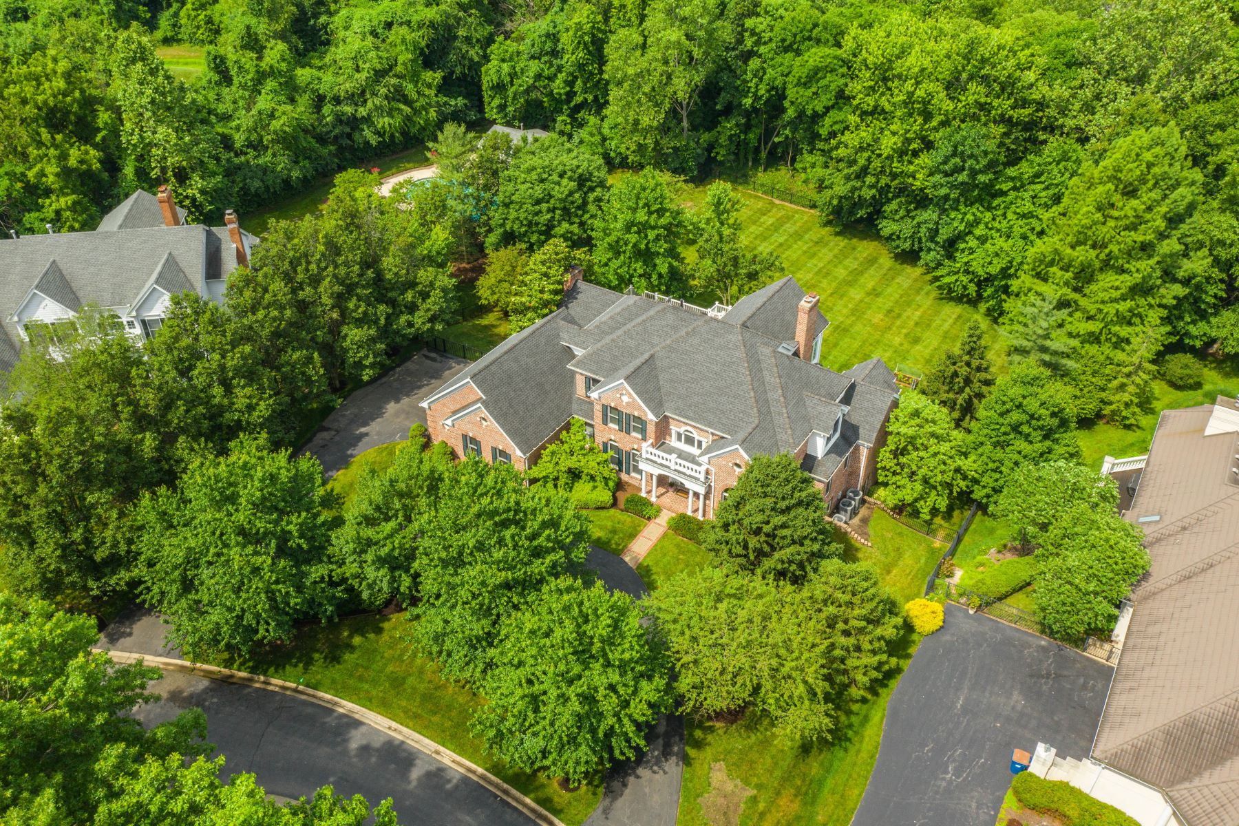 Property for Sale at Custom Newer Home in Ladue School District 121 White Bridge Meadows Lane Creve Coeur, Missouri 63141 United States