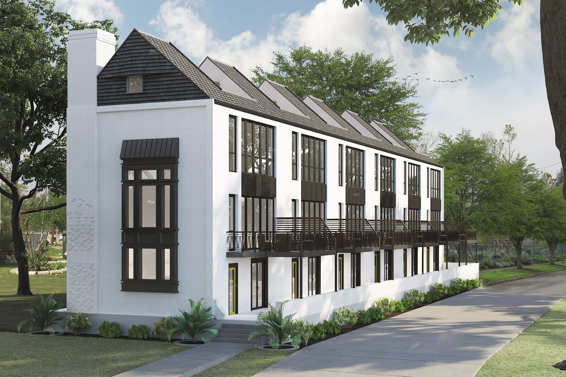 townhouses for Sale at West Village Townhomes - 106 Charles 4201 West Pine Boulevard, 106 - Charles St. Louis, Missouri 63108 United States