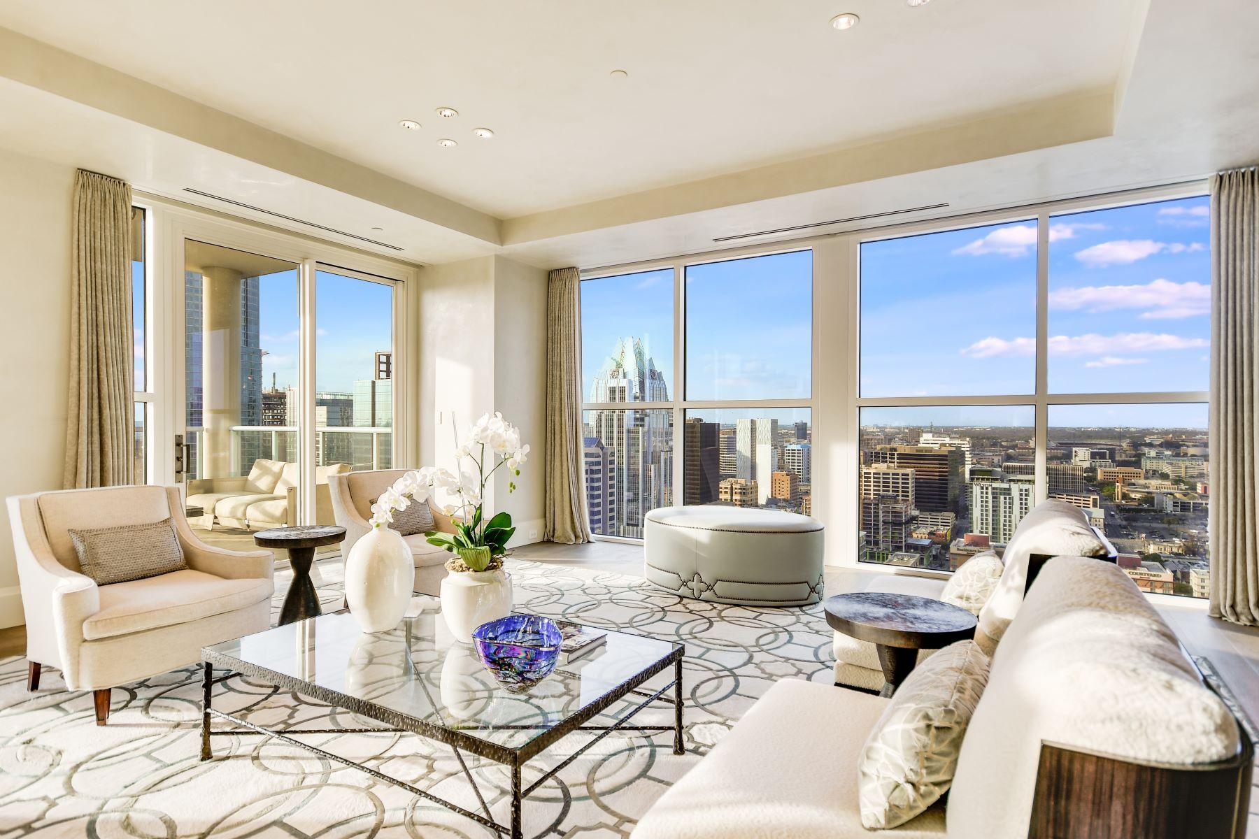 Condominiums for Sale at The Four Seasons, 30th Floor Penthouse 98 San Jacinto Boulevard, 30th Floor Penthouse Austin, Texas 78701 United States
