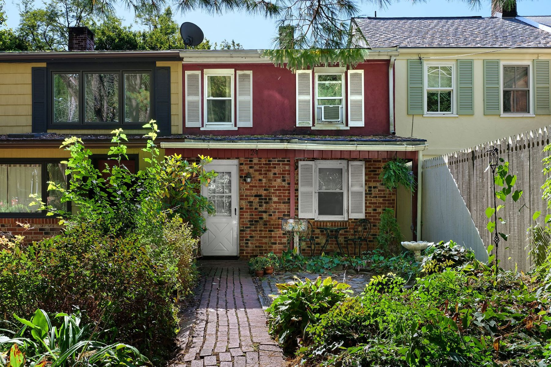 Single Family Homes for Sale at A Cozy Intown Weekend Retreat or Starter Home 24 Brunswick Avenue, Lambertville, New Jersey 08530 United States