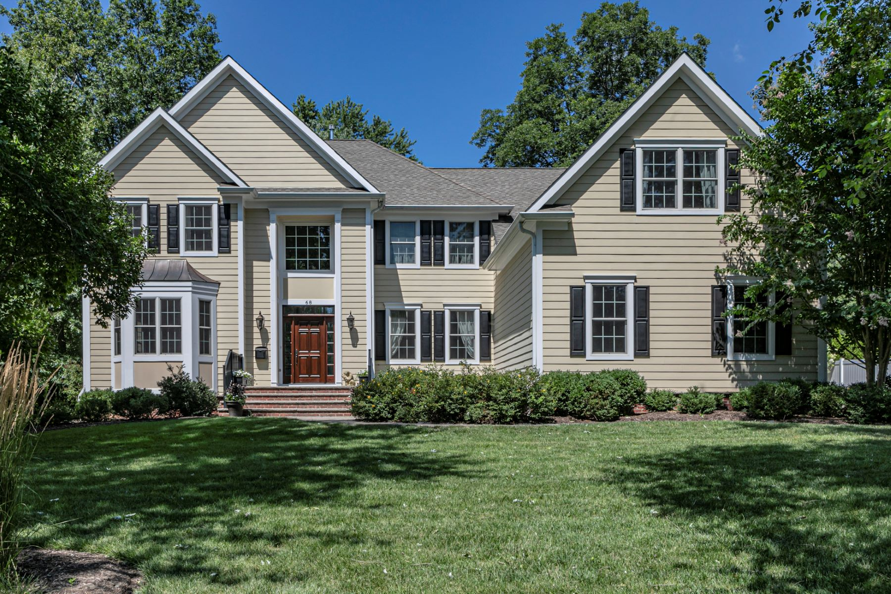 Single Family Homes for Sale at Like a Showhouse That's Ready for Real Life! 68 Magnolia Lane, Princeton, New Jersey 08540 United States