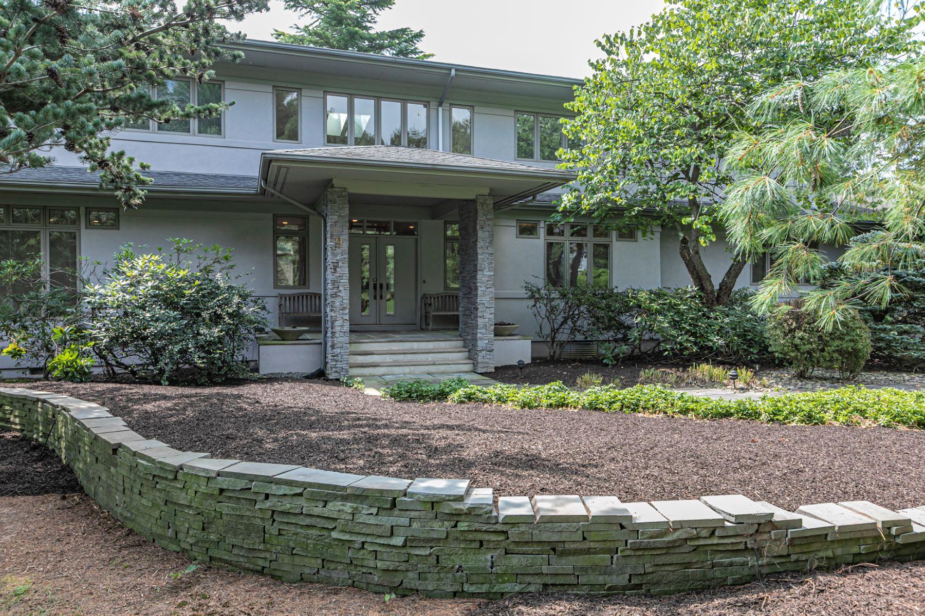 Single Family Homes για την Πώληση στο A Haven of Serenity So Close to Everything 9 Tomlyn Drive, Princeton, Νιου Τζερσεϋ 08540 Ηνωμένες Πολιτείες