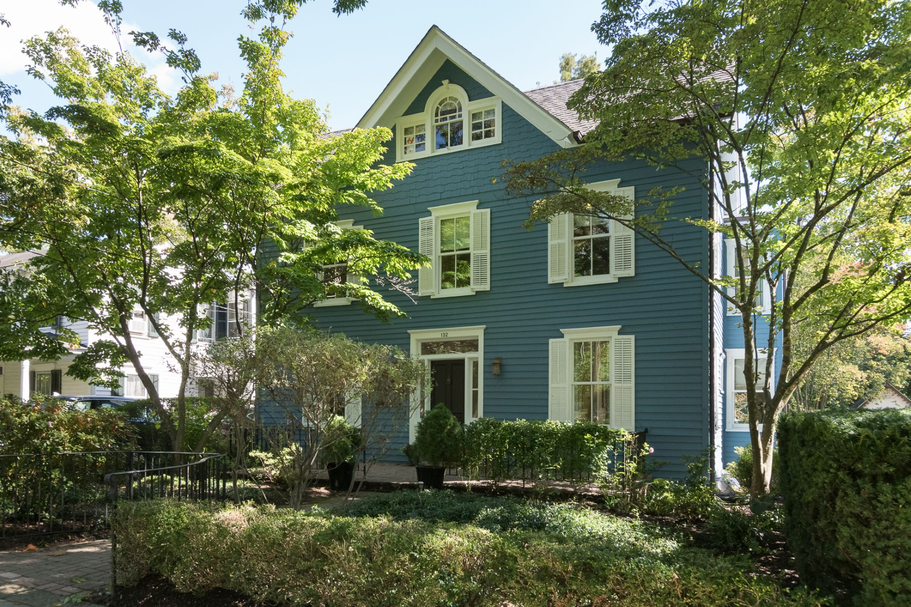 Single Family Homes for Sale at 19th Century Charm, 21st Century Features 132 Mercer Street, Princeton, New Jersey 08540 United States