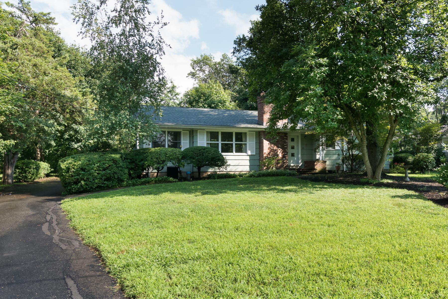 Single Family Homes for Sale at Charming Ranch Ready for its New Owner 25 Bedle Street, Belle Mead, New Jersey 08502 United States