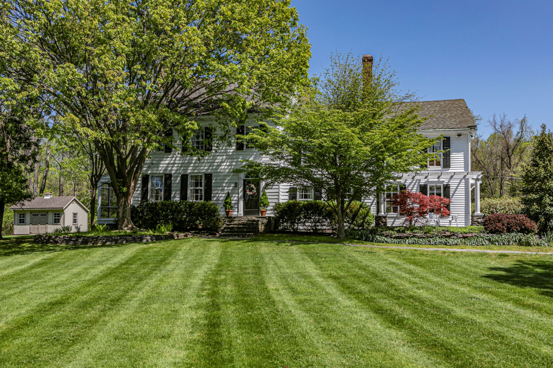 Single Family Homes for Sale at Historic Farmhouse On Picturesque Grounds 41 Van Dyke Road, Princeton, New Jersey 08540 United States