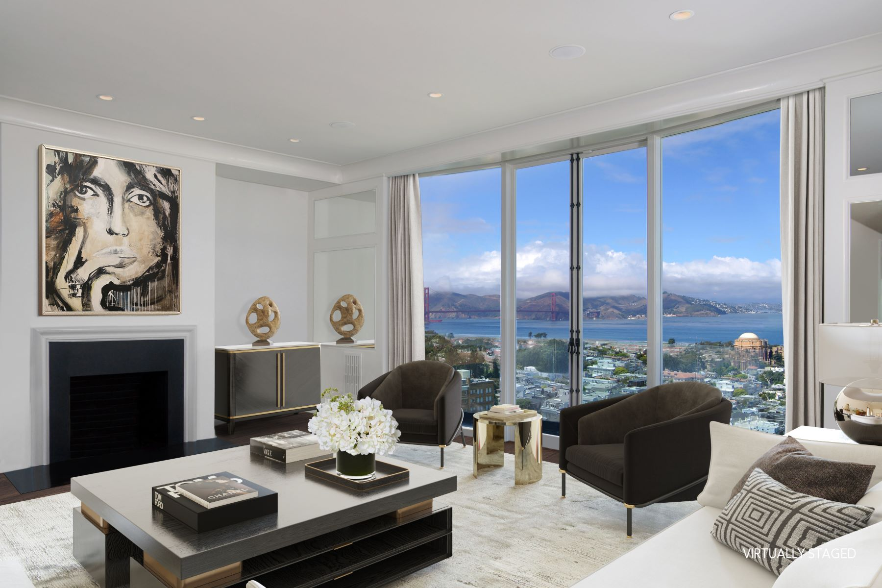 Single Family Homes for Sale at Elegant Gold Coast Residence 2780 Broadway St San Francisco, California 94115 United States