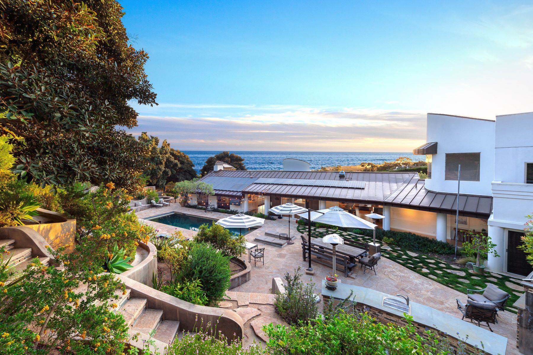 Property for Sale at Malibu Ocean View Estate With Pool 27725 Winding Way Malibu, California 90265 United States