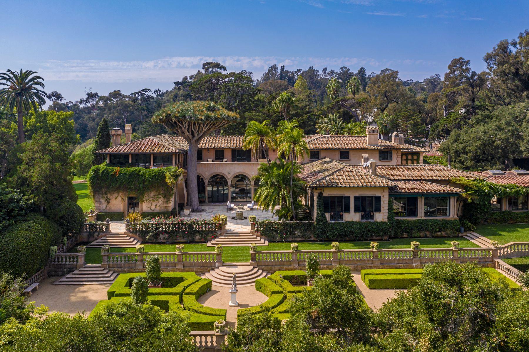 Single Family Homes for Sale at Sotto il Monte 2845 Sycamore Canyon Road Montecito, California 93108 United States