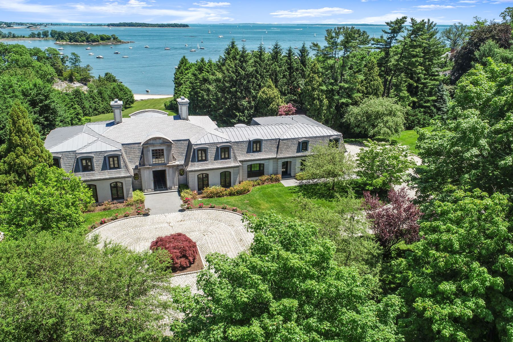 Single Family Homes for Sale at 136 Field Point Circle Greenwich, Connecticut 06830 United States