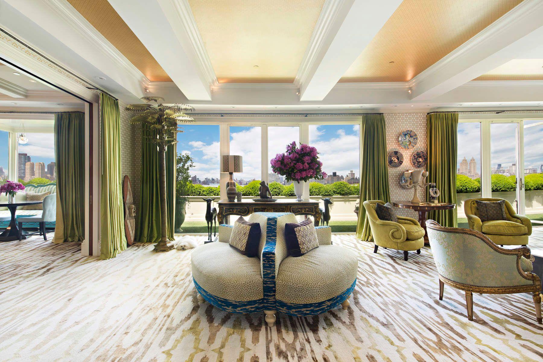 Apartments для того Продажа на Stanhope Penthouse 995 Fifth Avenue, PH, New York, Нью-Йорк 10028 Соединенные Штаты