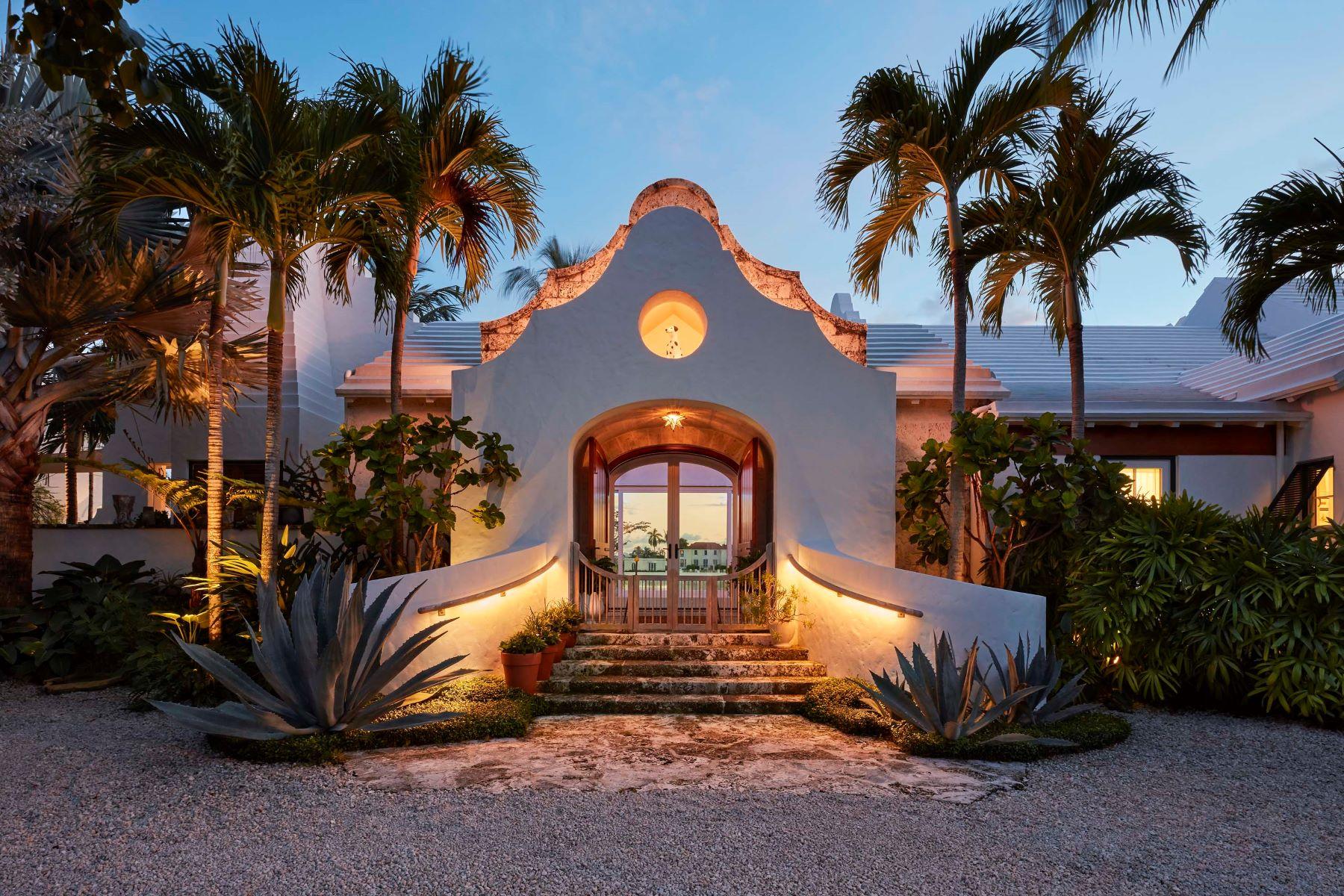 Single Family Homes for Sale at Tarpon Cove 320 Island Road Palm Beach, Florida 33480 United States