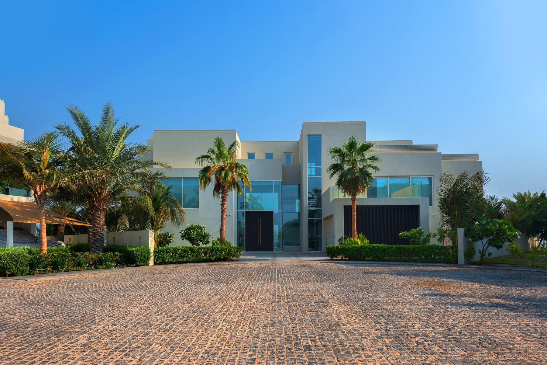 Other Residential Homes for Sale at Celebrity choice Modern Beachfront Mansion Dubai, Dubai United Arab Emirates