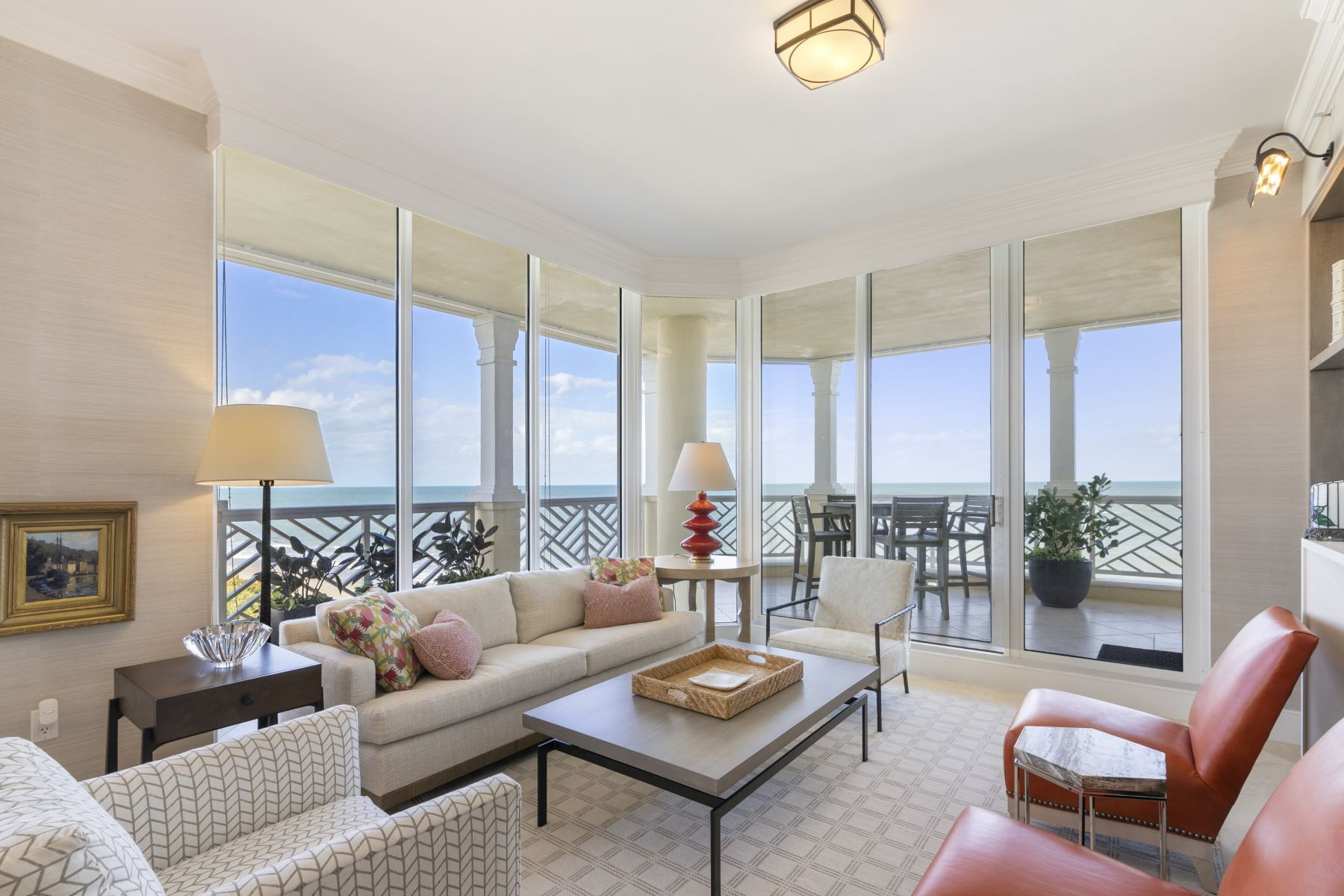 Property for Sale at Spectacular Oceanfront Penthouse 200 E Sea Colony Drive, PH-D Indian River Shores, Florida 32963 United States