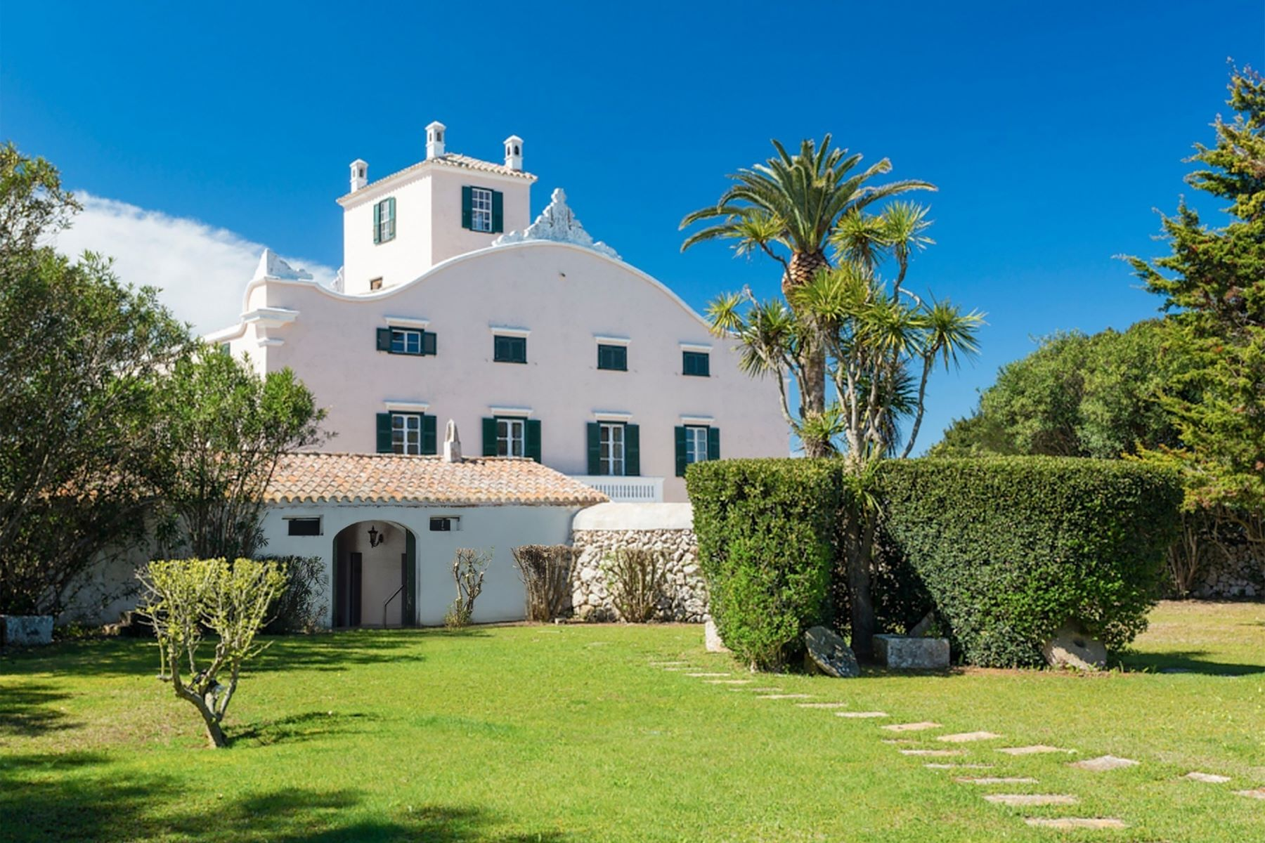 Single Family Homes for Sale at Gorgeous luxury property with endless gardens Sant Lluis Menorca, Menorca 07710 Spain
