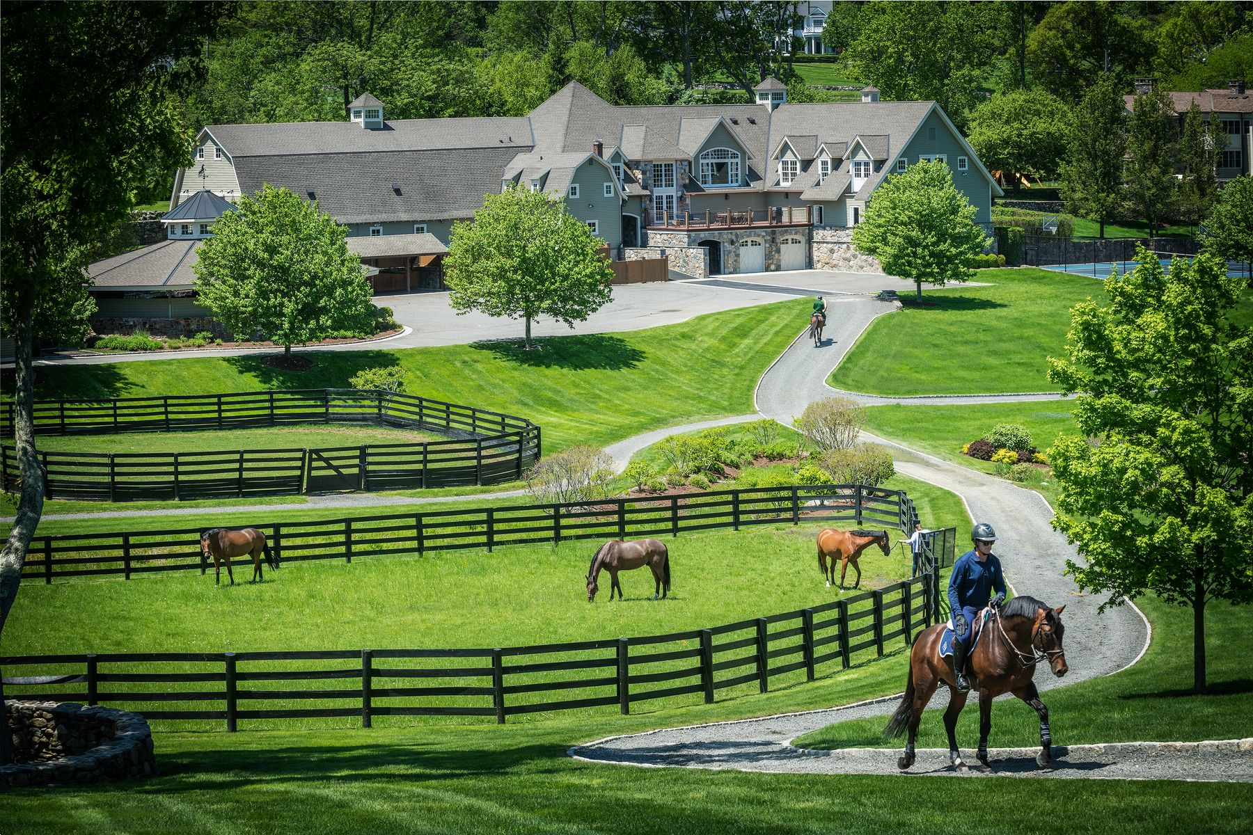 Vineyard Real Estate for Sale at Double H Farm 9 Old Stagecoach Road Ridgefield, Connecticut 06877 United States