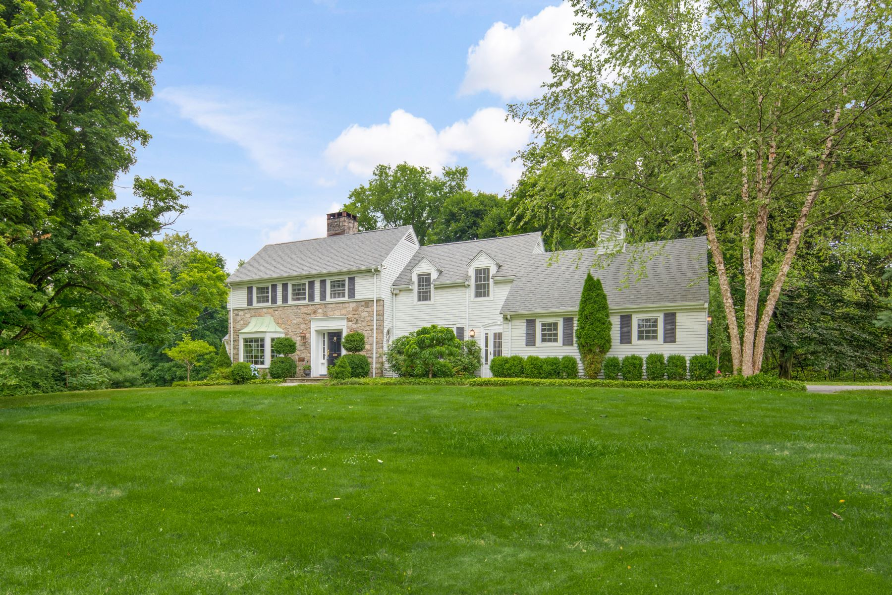 Single Family Homes for Sale at Classic Colonial 10-12 Gregory Street, Danbury, Connecticut 06811 United States