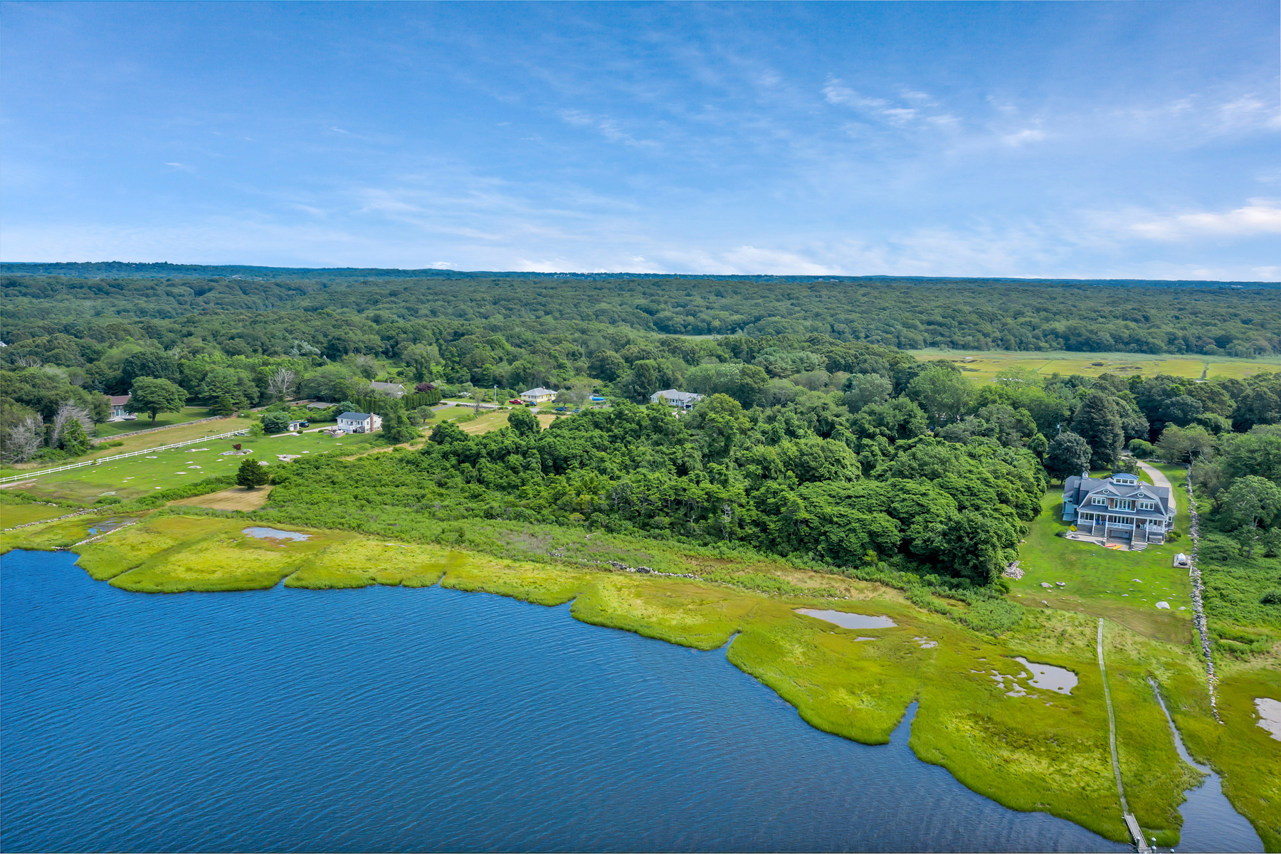 Land for Sale at Spectacular Waterfront Land! 238a Palmer Neck Road Stonington, Connecticut 06379 United States